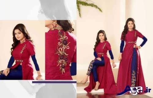 لباس هندی بلند و زیبا