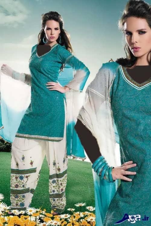 لباس هندی ساده
