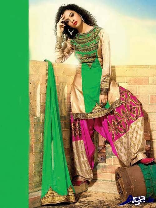 لباس هندی زیبا و جدید