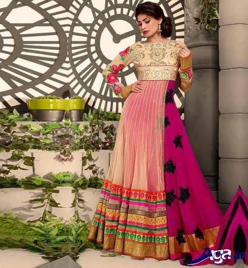 مدل لباس هندی بلند
