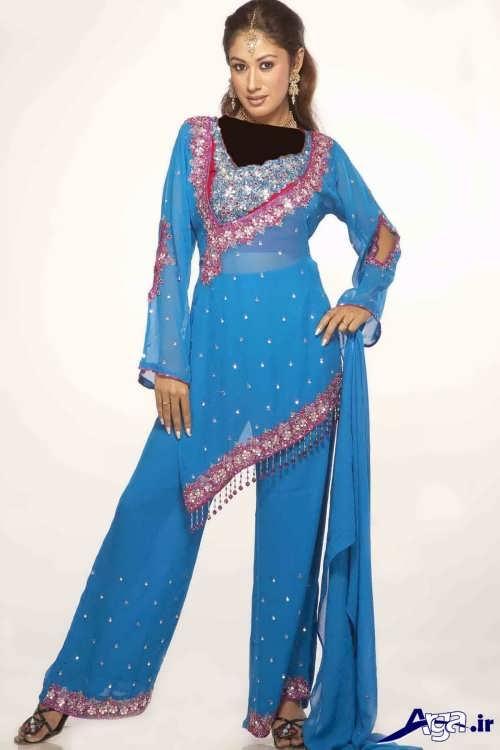 لباس هندی زیبا و متفاوت