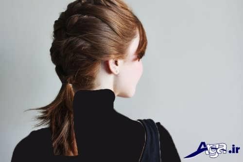 مدل بافت مو فرانسوی برای موهای کوتاه