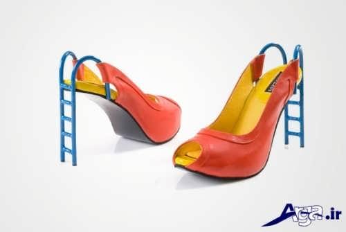 کفش شیک با طرح متفاوت مجلسی