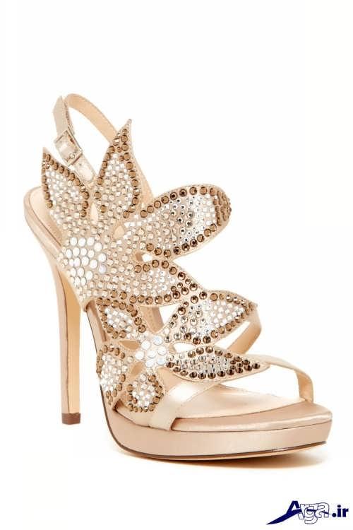 کفش زیبا و نگینی دار مجلسی