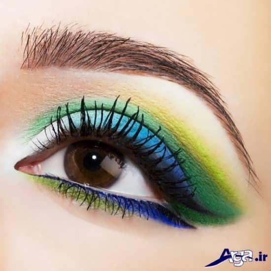 مدل سایه رنگی چشم