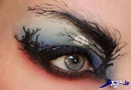 مدل های متفاوت و زیبا آرایش چشم