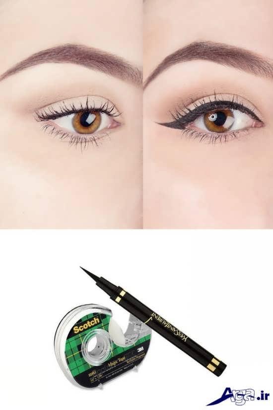 مدل خط چشم زیبا و جدید