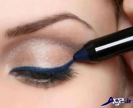 آموزش کشیدن خط چشم مدادی