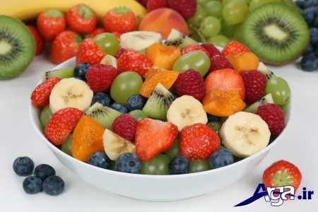 میوه های مختلف چربی سوز