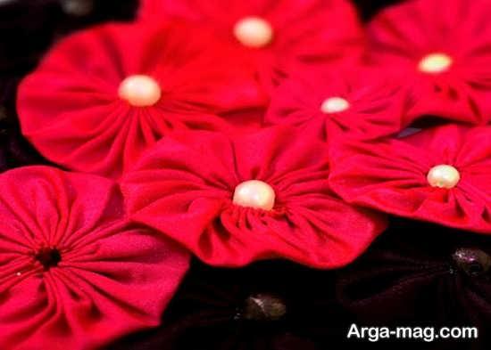 گلسازی پارچه ای جذاب