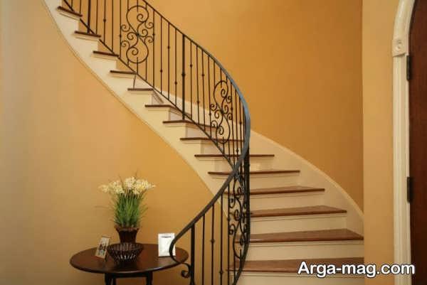 مدل نرده پله مناسب ساختمان های شیک