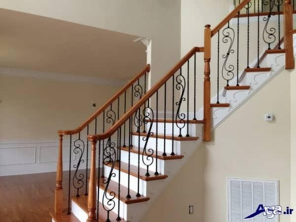 مدل نرده برای پله های داخل سالن