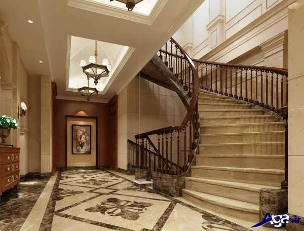 مدل نرده جدید بریا پله های داخل منزل