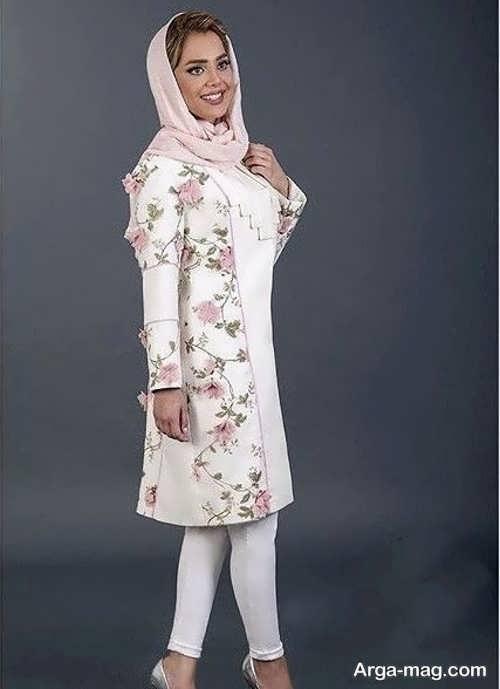 تصاویری از مانتوهای گلدار