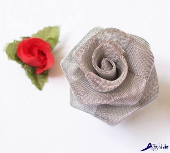 گل رز پارچه ایی