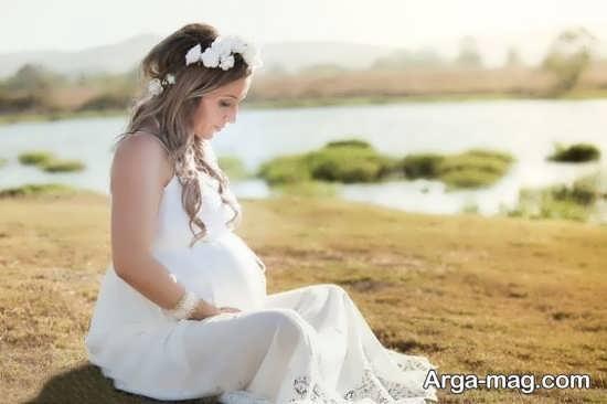 ژست عکس حاملگی خاص