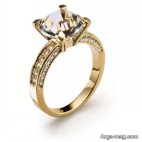 مدل انگشتر طلای زنانه