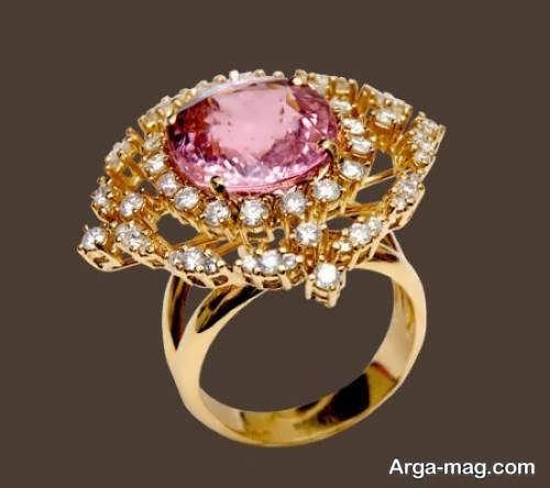 انواع انگشتر طلای زنانه