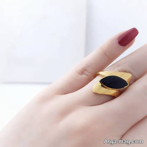زیباترین مدل انگشتر طلای زنانه