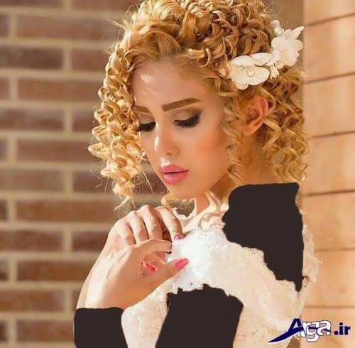 رنگ موی طبیعی طلایی
