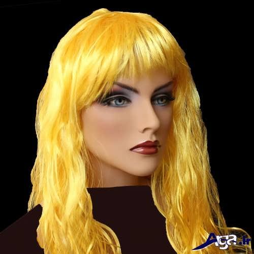 رنگ مو زرد طلایی