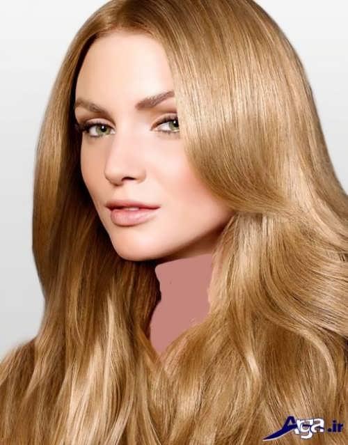 رنگ موی بلوند طلایی