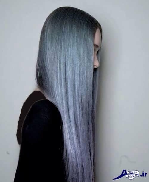 رنگ موی خاکستری پاستیلی
