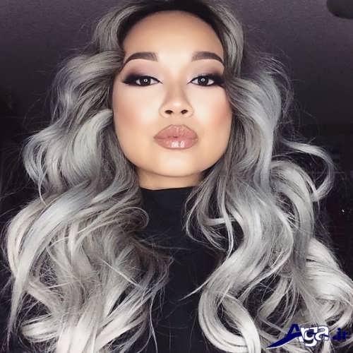 رنگ مو خاکستری