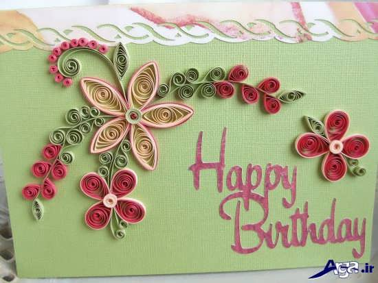 عکس کارت پستال تولد
