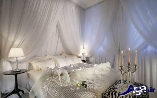 تزیین زیبا و رمانتیک اتاق خواب عروس