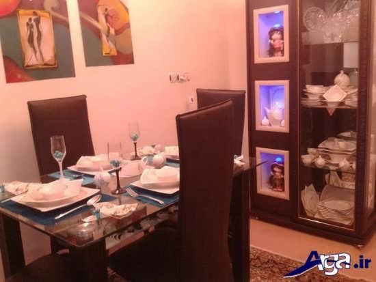 تزیین میز نهارخوری عروس