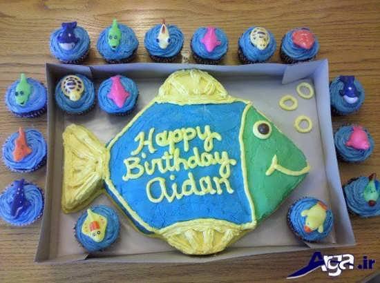 تزیین کیک تولد برای کودکان