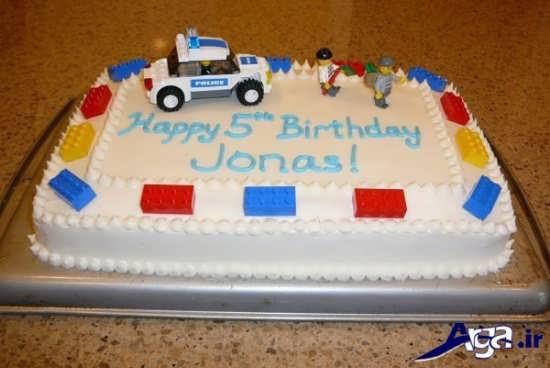 تزیین کیک برای بچه ها