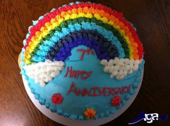 تزیین زیبا کیک برای کودکان