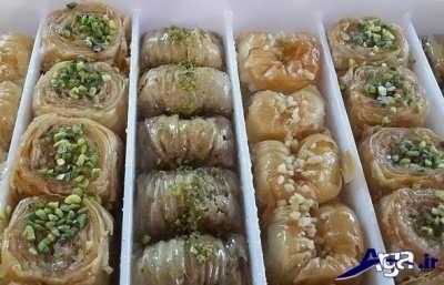 طرز تهیه باقلوای استانبولی در منزل