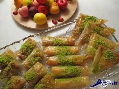 روش تهیه باقلوای استانبولی