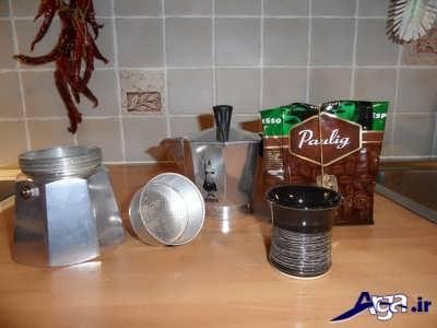 آموزش تصویری روش تهیه قهوه اسپرسو