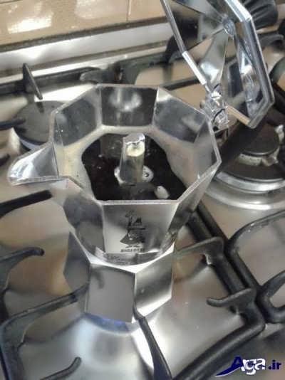 قهوه اسپرسو آماده شده