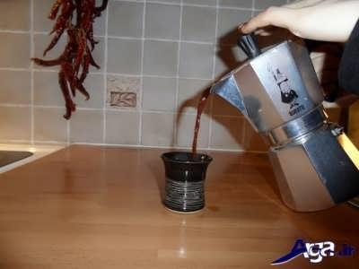 قهوه اسپرسو آماده سرو