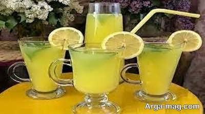 نحوه تهیه شربت به لیمو