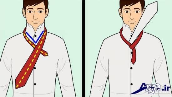 مراحل بستن کراوات مردانه