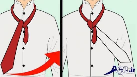 بستن کراوات با روش های مختلف