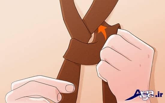 نحوه بستن گره ساده کراوات