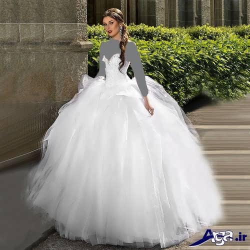 مدل لباس عروس با طرحی تفاوت