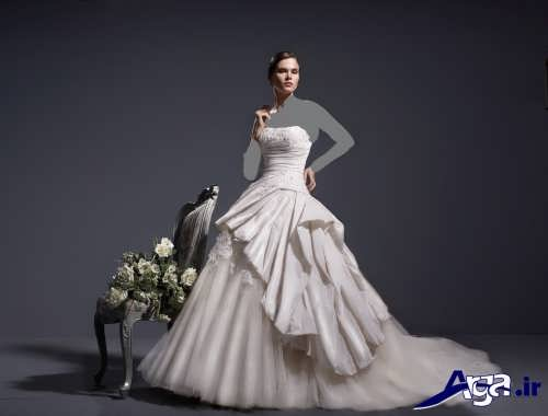 مدل لباس عروس با طرحی زیبا و جذاب
