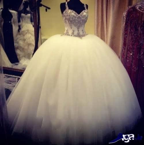 مدل لباس عروس ایرانی پف دار