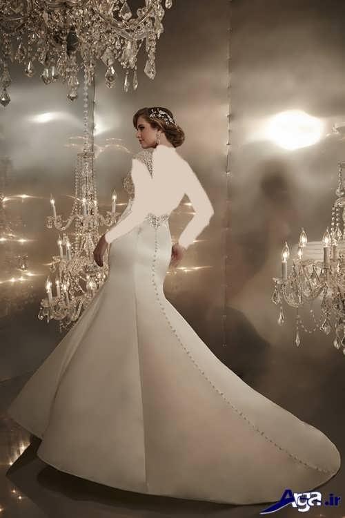 مدل لباس عروس شیک ایرانی
