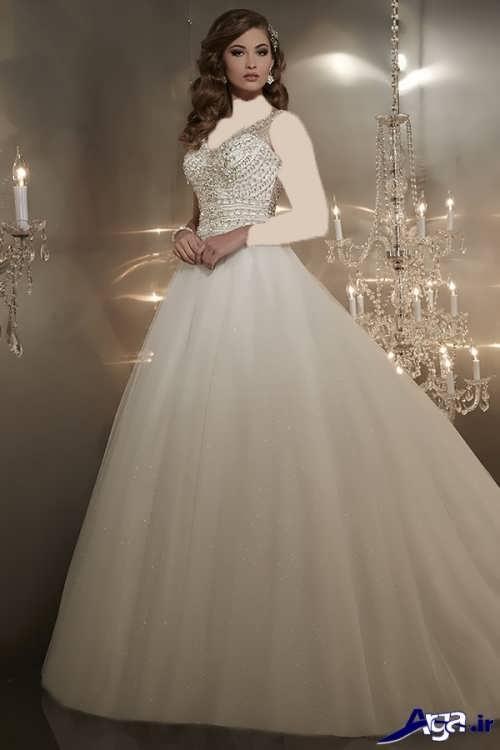 مدل لباس عروس پفی ایرانی