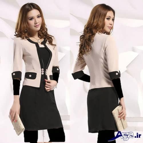 مدل های زیبا و جدید کت و دامن کره ای