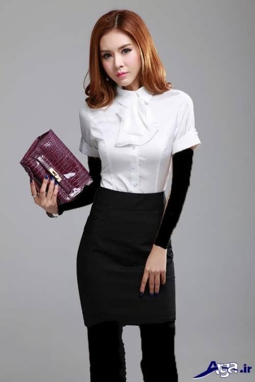 مدل بلوز و دامن کره ای